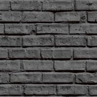 V.I.P Brick Wallpaper in Black