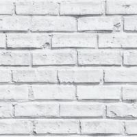 V.I.P Brick Wallpaper in White