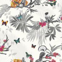 Imagine Mystical Forest Wallpaper in White