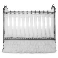 Go Mama Go Designs® 2-Pack Wishes of Windsor Vertical Crib Liners in White