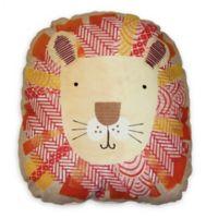 Imagine Fun Circus Fun Lion 16-Inch Square Throw Pillow