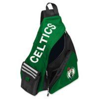 NBA Boston Celtics Leadoff Sling Backpack in Green/Black
