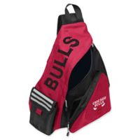 NBA Chicago Bulls Leadoff Sling Backpack in Red/Black