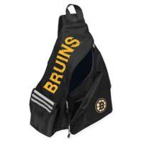 NHL Boston Bruins Leadoff Sling Backpack in Black
