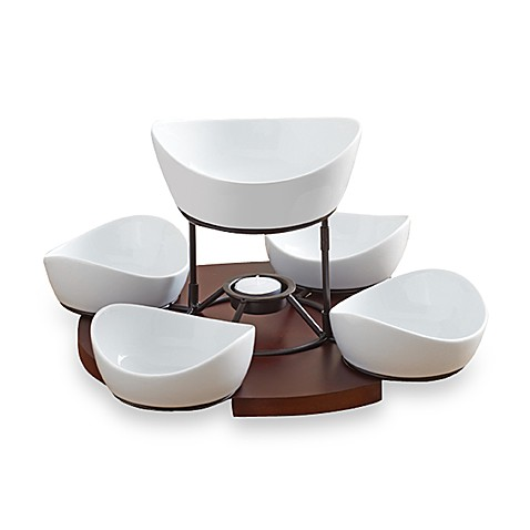B Smith Lazy Susan With Serving Bowls Set Bed Bath Beyond