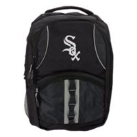 MLB Chicago White Sox Captain Backpack in White/Black