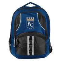 MLB Kansas City Royals Captain Backpack in Royal Blue/Black