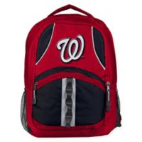 MLB Washington Nationals Captain Backpack in Red/Black