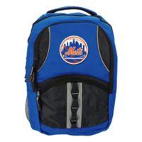 MLB NY Mets Captain Backpack in Royal Blue/Black