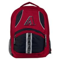 MLB Arizona Diamondbacks Captain Backpack in Red/Black