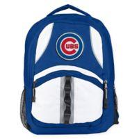 MLB Chicago Cubs Captain Backpack in Royal Blue/Black