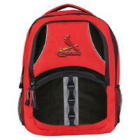 MLB St. Louis Cardinals Captain Backpack in Red/Black