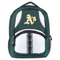 MLB Oakland Athletics Captain Backpack in Green/Black