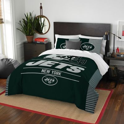 NFL Draft New York Jets Full/Queen Comforter Set