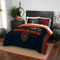 NFL Chicago Bears Draft Full/Queen Comforter Set