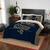 NFL Los Angeles Rams Draft Full/Queen Comforter Set