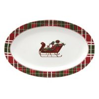 Lenox® Vintage Plaid 15-Inch Oval Platter
