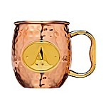 "Monogram Letter ""A""  Moscow Mule Mug in Copper"