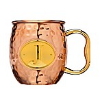 "Monogram Letter ""J"" Moscow Mule Mug in Copper"