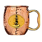 "Monogram Letter ""S"" Moscow Mule Mug in Copper"