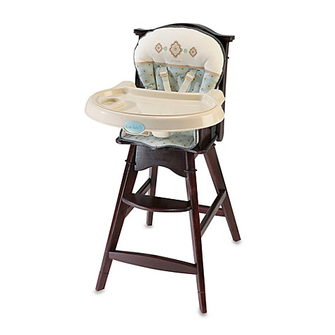 Carters 174 Classic Comfort Reclining Wood High Chair By