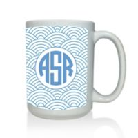 Carved Solutions Elements Mug in Blue