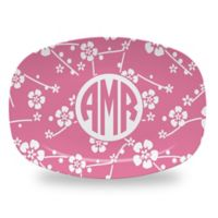 Carved Solutions Elements Platter in Pink