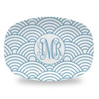 Carved Solutions Elements Platter in Blue