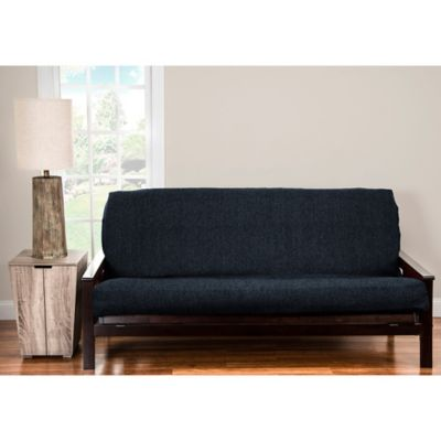 Siscovers Pologear Belmont Queen Futon Cover In Deep Blue