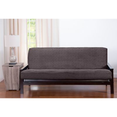 pologear tumbleweed queen futon cover in stone - Queen Futon Cover