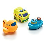 Playgro On the Move Squirtees (Set of 3)