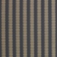 Rail Stripe Cotton Jacquard Swatch in Charcoal