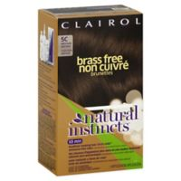 Clairol® Natural Instincts 5C Brass-Free Medium/Brown
