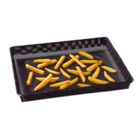 NoStik® Large Oven Crisper Basket in Black