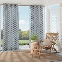 Parasol St. Kitts 84-Inch Indoor/Outdoor Grommet Top Window Curtain Panel in Indigo