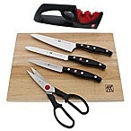 Zwilling® J.A. Henckels Twin Signature 6-Piece Cutting Board Knife Set