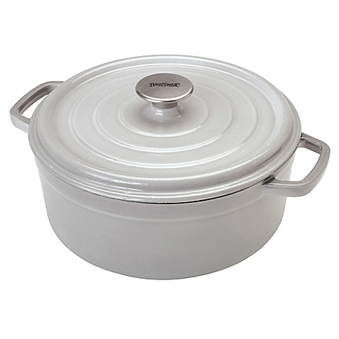 Bayou Classic 174 Enameled Cast Iron 5 Qt Covered Dutch Oven