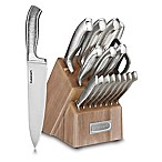 Cuisinart® Classic™ Stainless Steel 17-Piece Knife Block Set