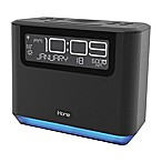 iHome® Bedside Alexa Alarm Clock in Black
