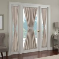 Paradise 72-Inch Rod Pocket Door Curtain Panel in Ivory