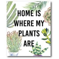 Courtside Market Plant Love VI 16-Inch x 20-Inch Canvas Wall Art