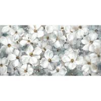 """White Essence"" 60.5-Inch x 30.5-Inch Canvas Wall Art"