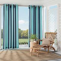 Parasol Coco Bay 84-Inch Indoor/Outdoor Grommet Top Window Curtain Panel in Indigo