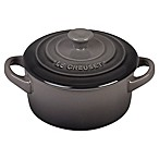Le Creuset® Mini Round Stoneware Cocotte in Oyster