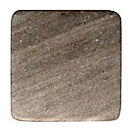 Thirstystone® Desert Marble Single Square Coaster in Brown