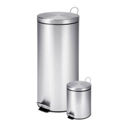 honeycando 30liter and 3liter stainless steel trash