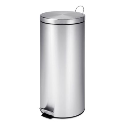 honey can do 30 liter step trash can - Stainless Steel Kitchen Trash Can