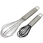 Oneida Stainless Steel and Silicone Whisks (Set of 2)
