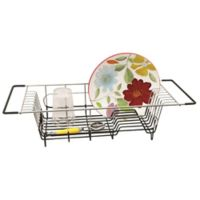 Stainless Steel Over the Sink Dish Drainer