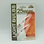Himalayan Glow 2-Pack 25-Watt Bulbs for Salt Lamps